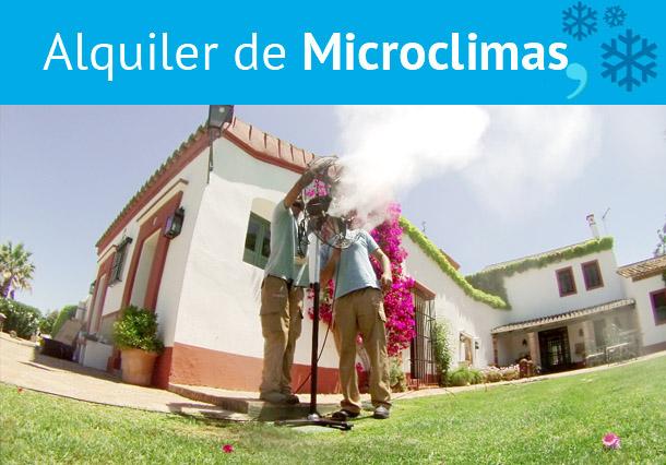 Alquiler de Microclimas