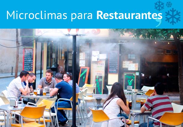 Microclimas para Restaurantes