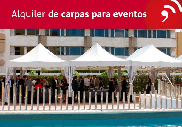 Alquiler de Carpas para eventos