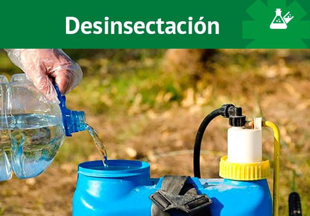 Desinsectación Dagape