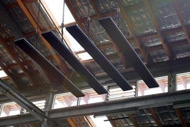 calefactor lineal para techo sin luz sevilla dagape